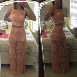 Brand new two pieces dress